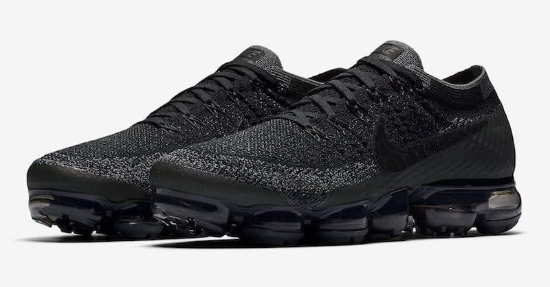 Nike Air VaporMax 'Triple Black' Gets General Release Date